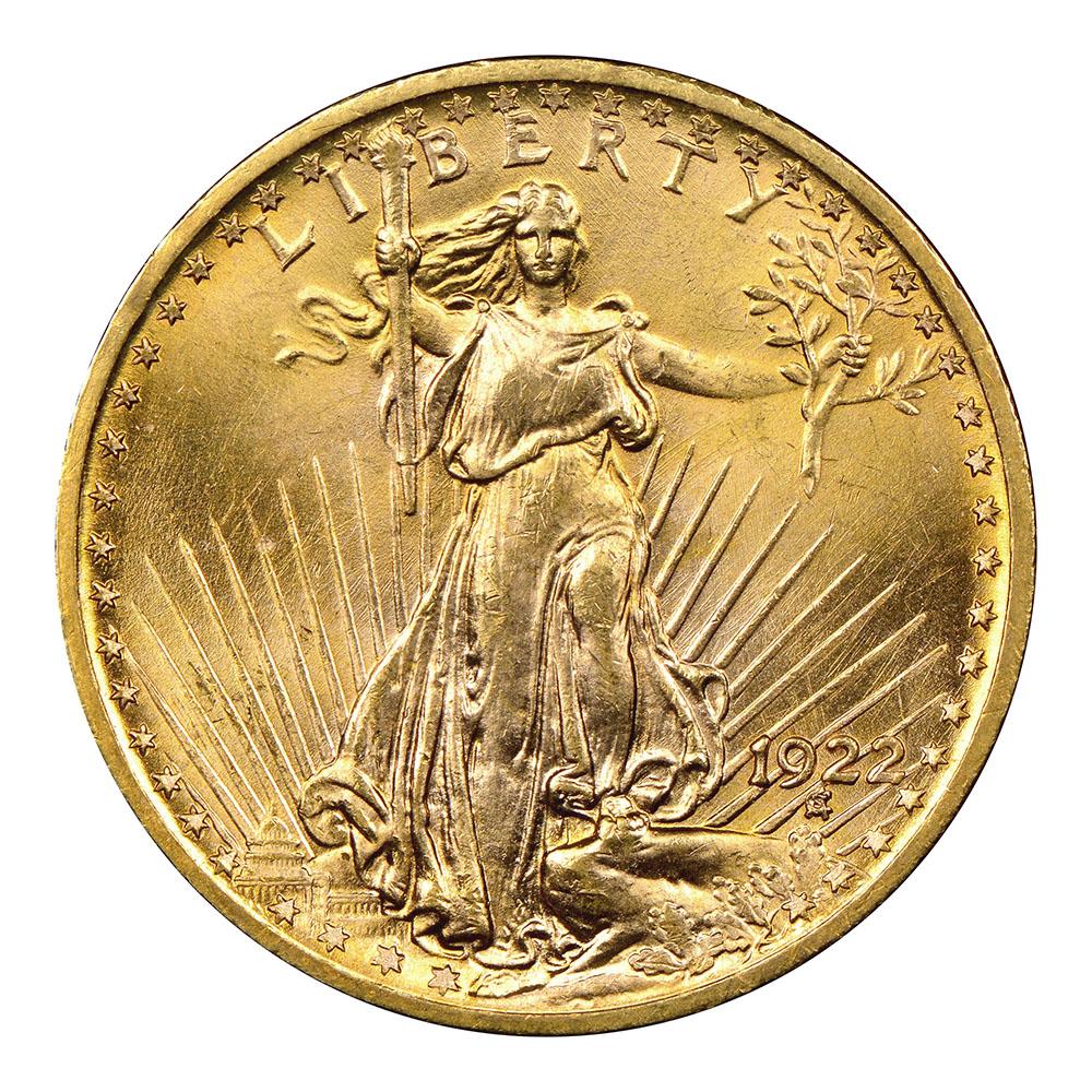 $20 St Gaudens Gold Coins