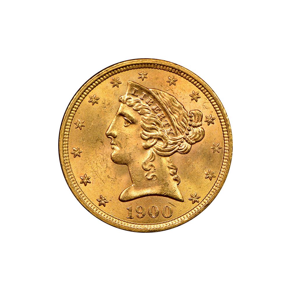 $5 Liberty Gold Coins