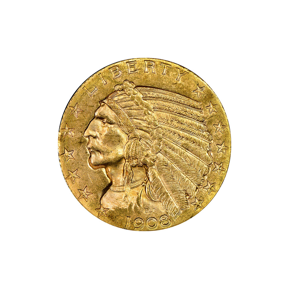 $5 Indian Gold Coins