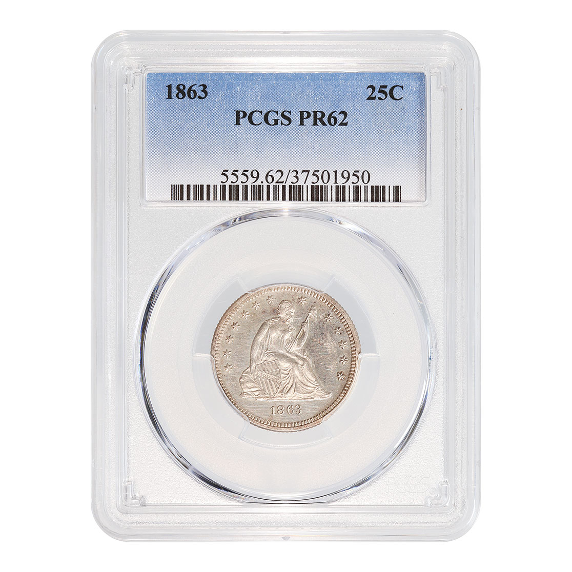 Certified Seated Liberty Quarters