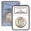 1878-1889 Certified Morgan Dollars