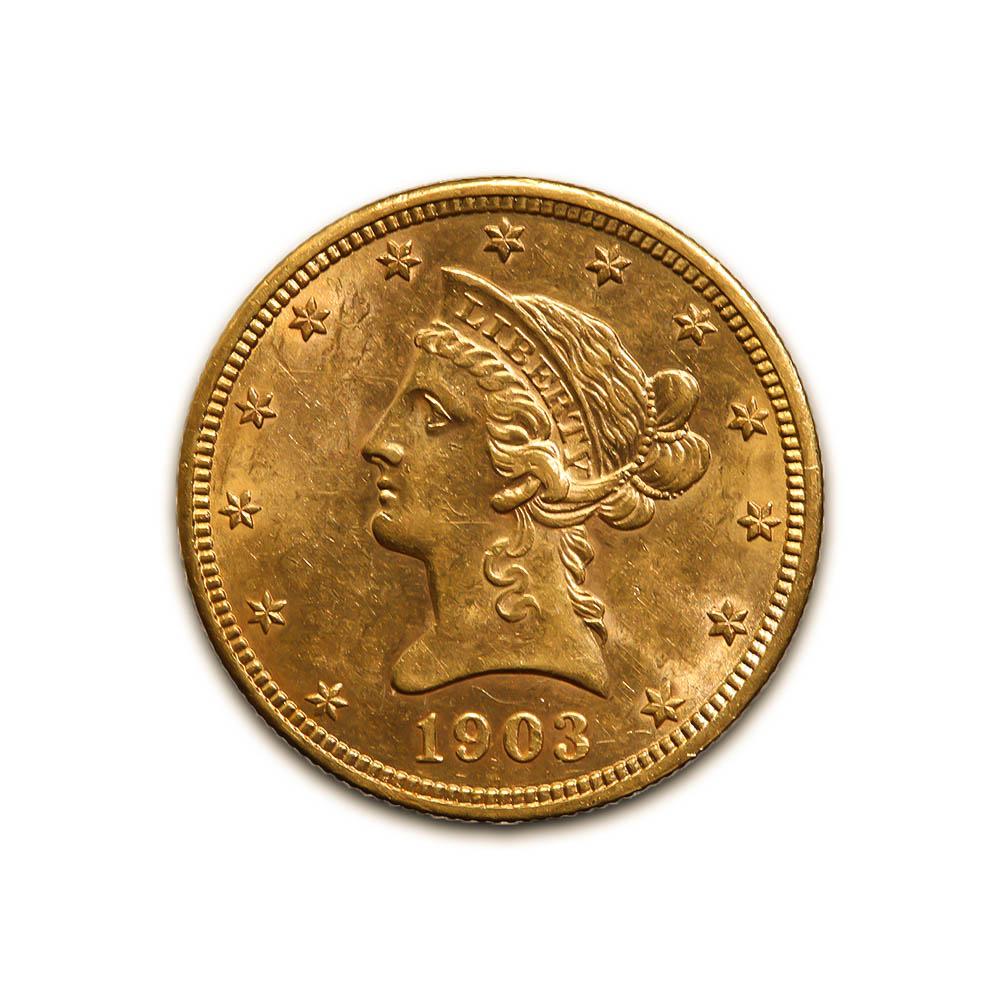 $10 Liberty Gold Coins