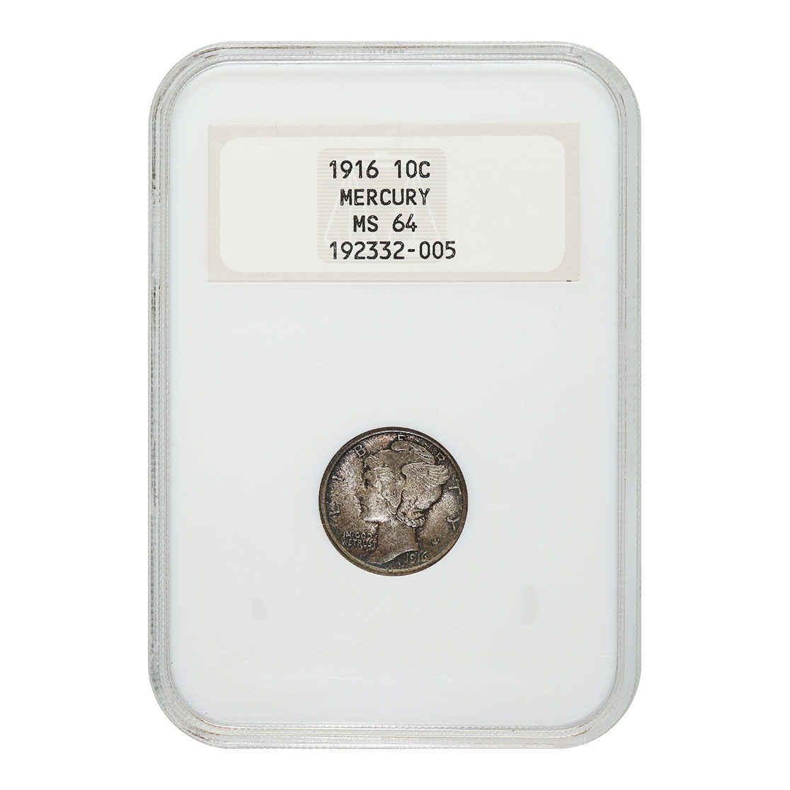 Certified Mercury Dimes