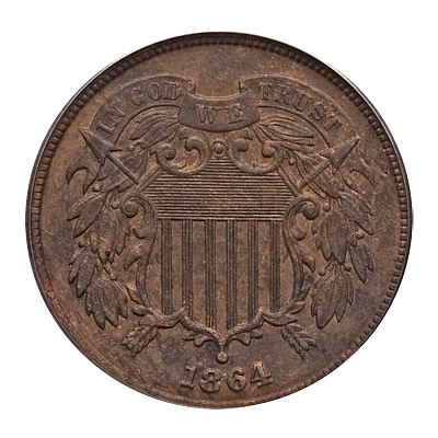 Two Cent Pieces Extra Fine