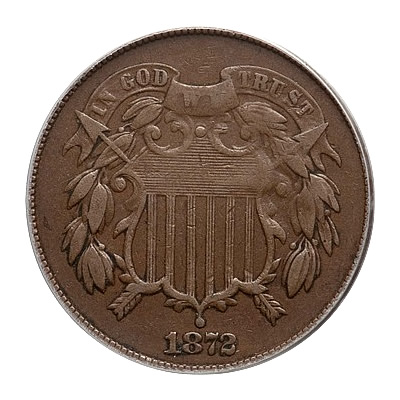 Two Cent Pieces Very Fine