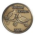 2009 Bronze Christmas Coins & Bars
