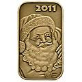2011 Bronze Christmas Coins & Bars