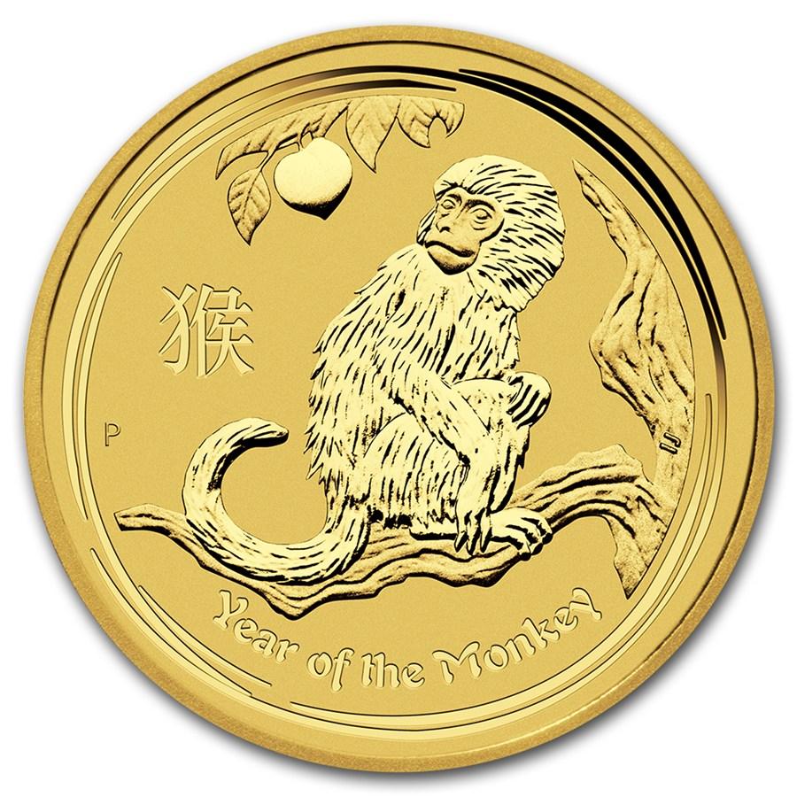 Lunar Series II Gold One Ounce