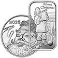 2016 Silver Christmas Coins & Bars