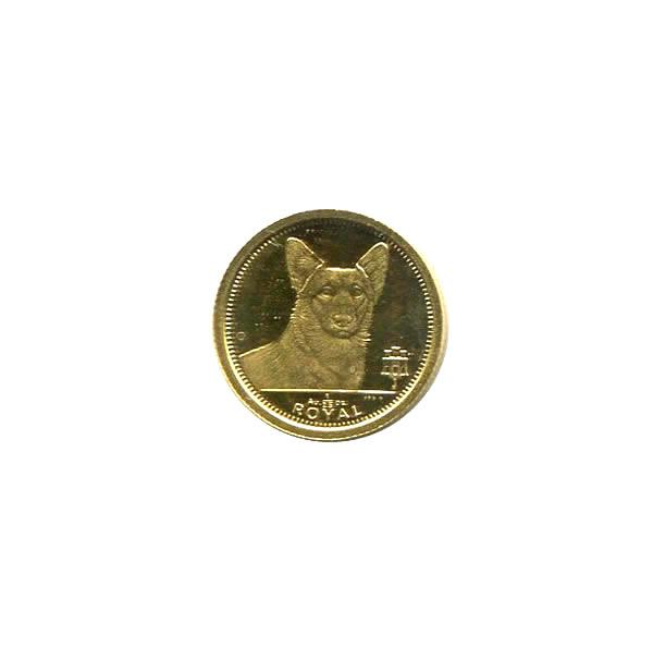 Gibraltar Gold Dogs 25th Ounce