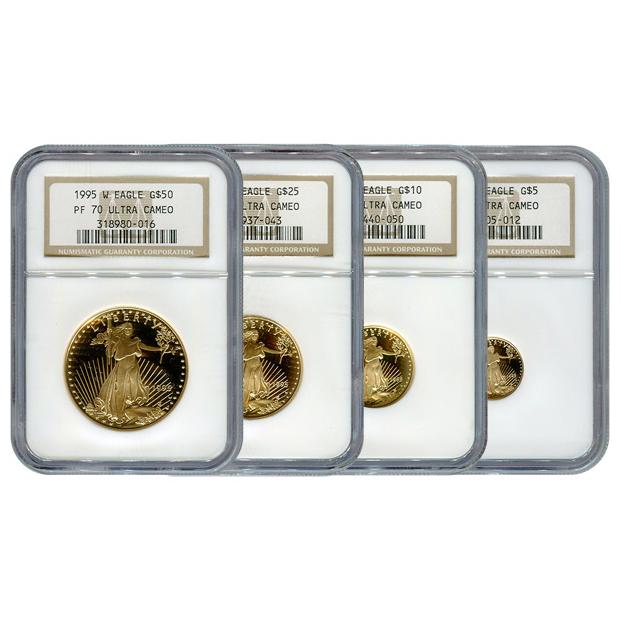 Certified Proof Gold Eagle Sets