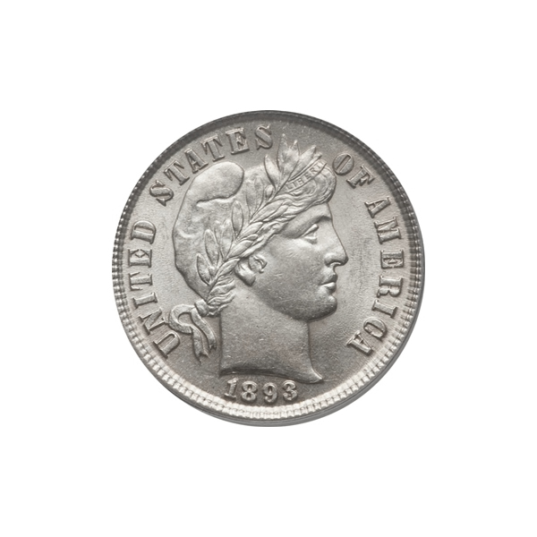 Barber Dimes Almost Uncirculated Condition