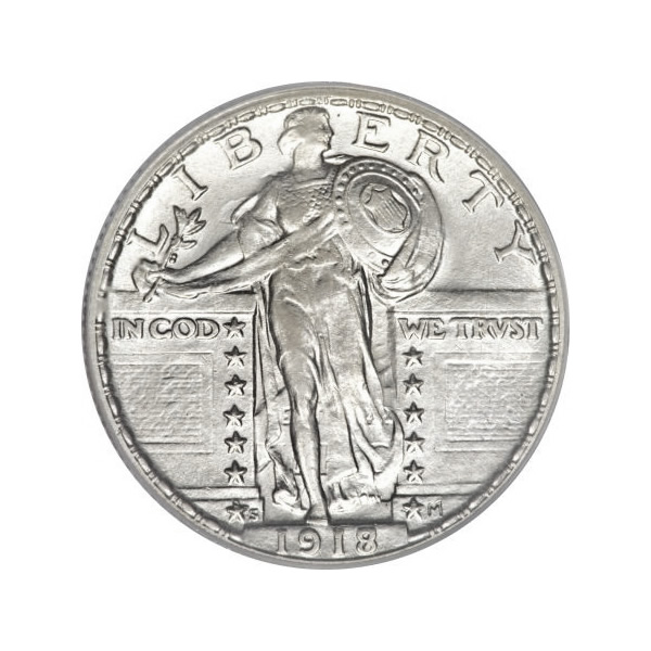 Standing Liberty Quarters Almost Uncirculated Condition