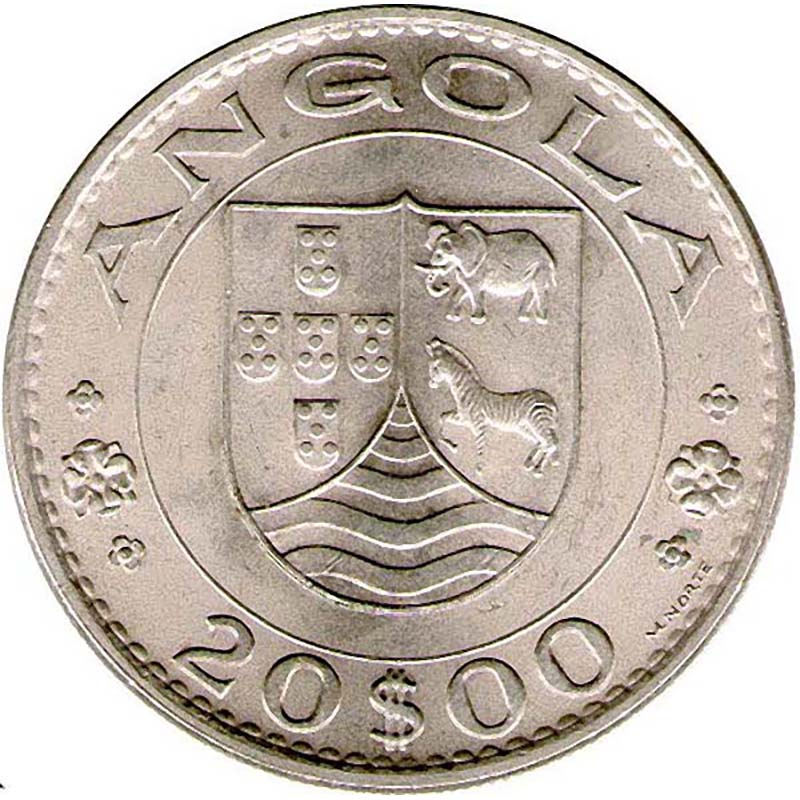 Angola World Coins
