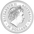 Australian Lunar Silver Kilo