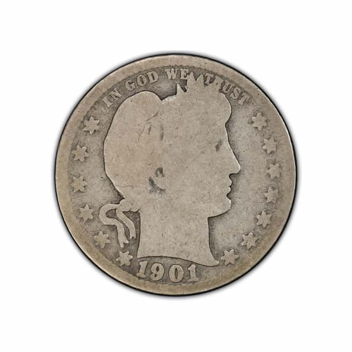 Barber Quarters About Good Key Dates