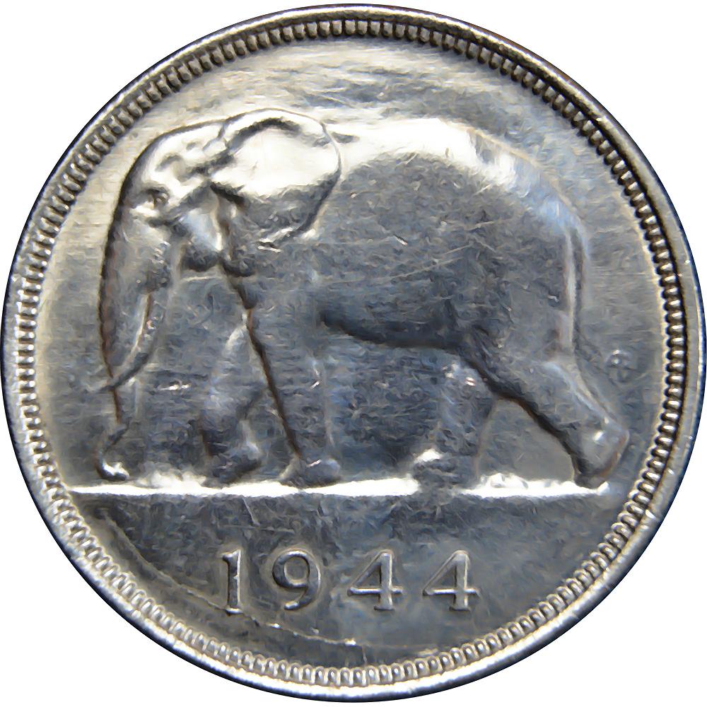 Belgian Congo World Coins