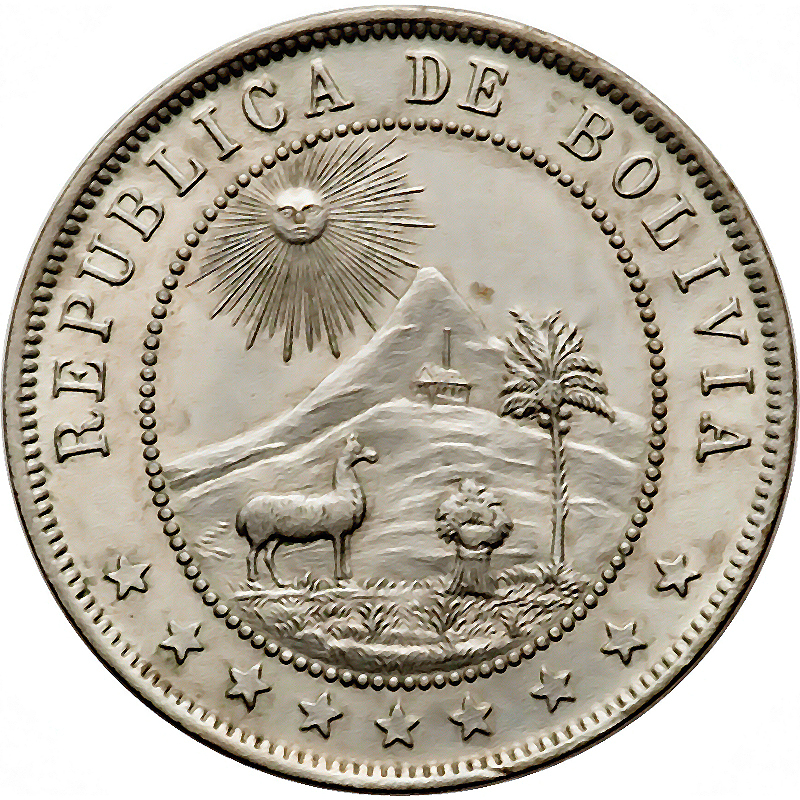 Bolivia World Coins