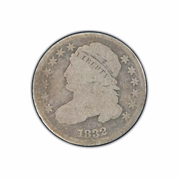 Capped Bust Dimes About Good