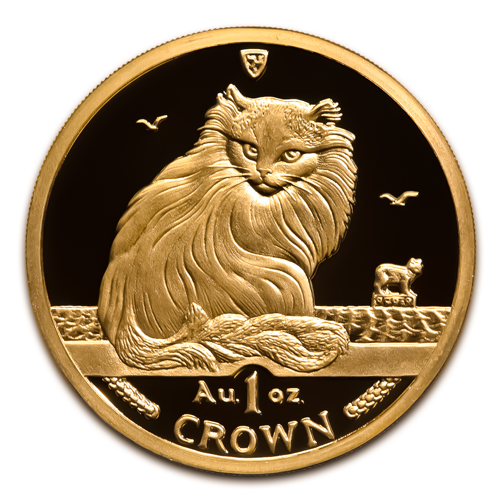 Isle Of Man Gold Cats One Ounce