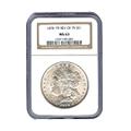Certified Morgan Silver Dollars