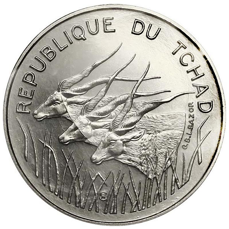 Chad World Coins