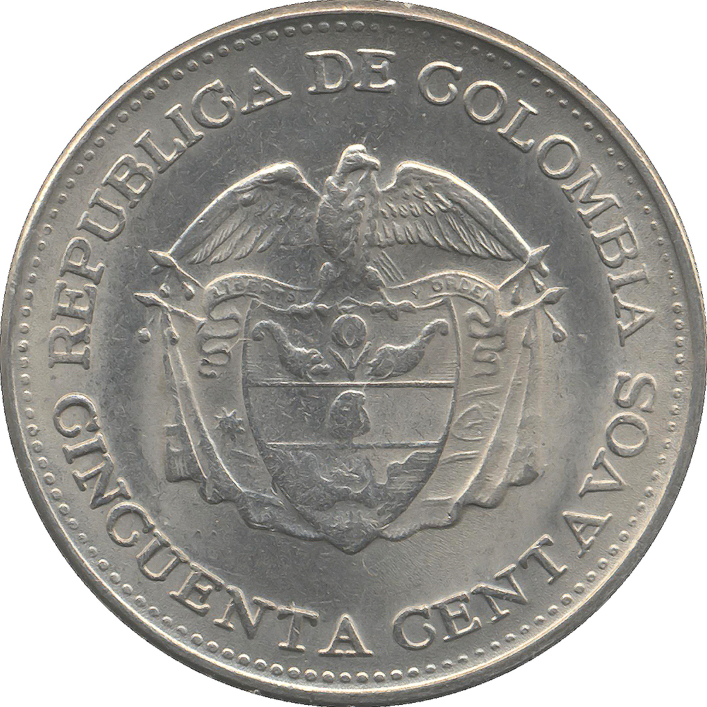 Colombia World Coins