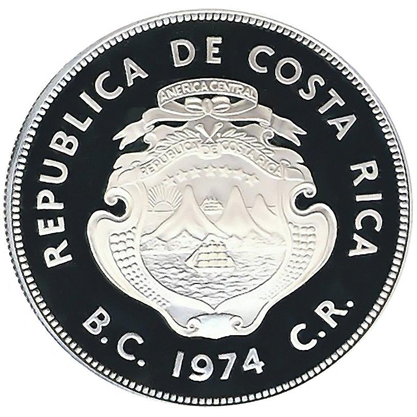 Costa Rica World Coins