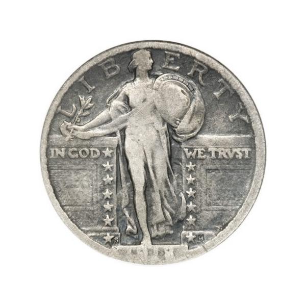 Standing Liberty Quarters Fine Condition