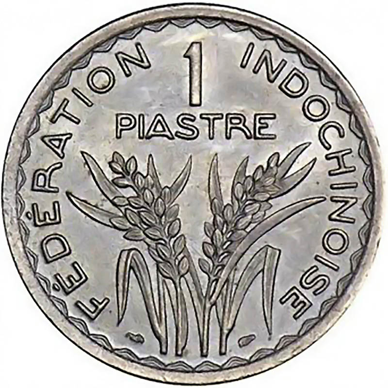 French Indo-China World Coins