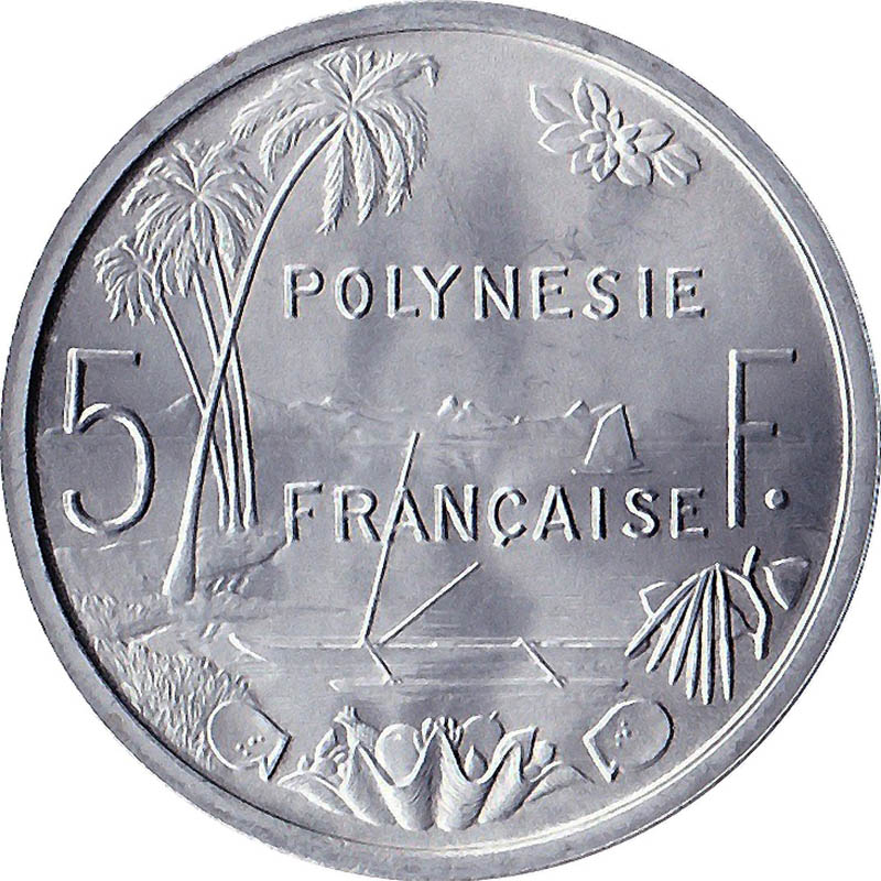 French Oceania & Polynesia World Coins