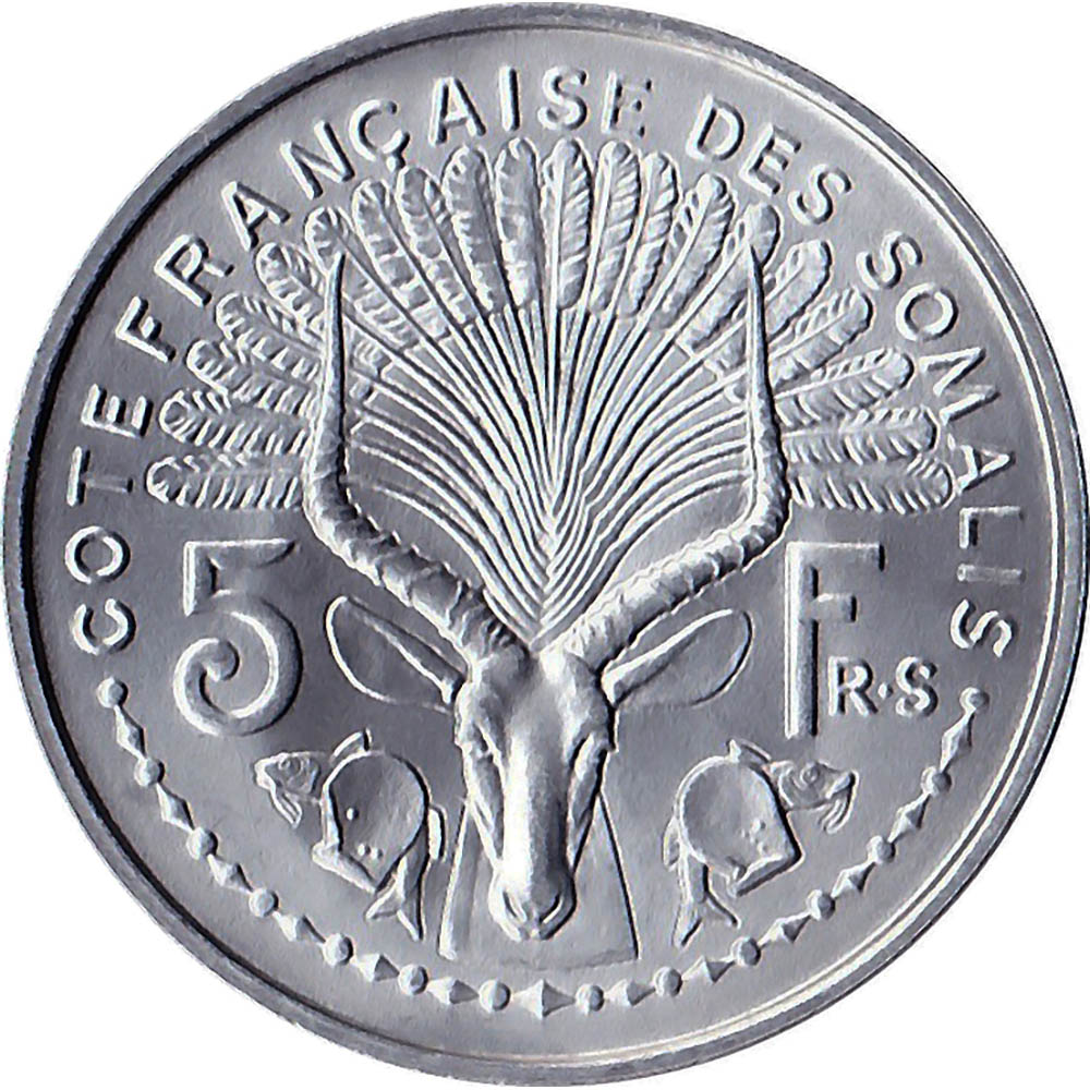 French Somaliland World Coins