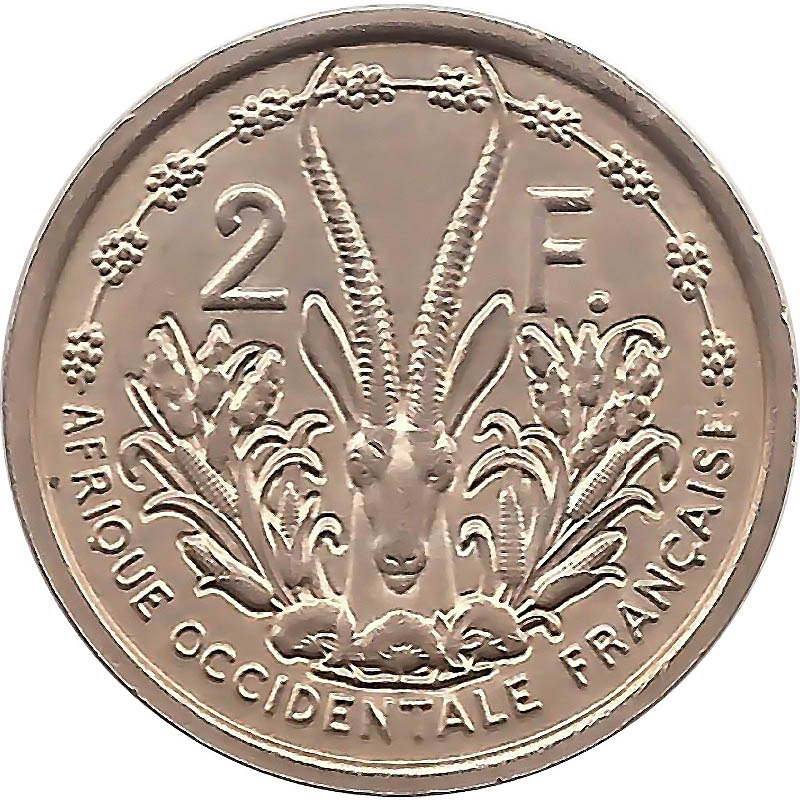 French West Africa World Coins