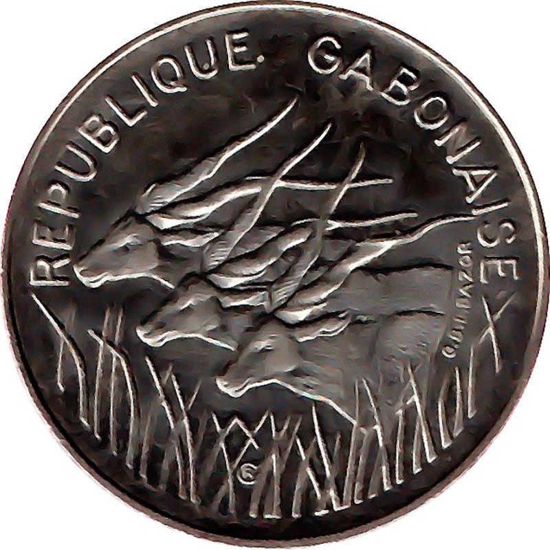 Gabon World Coins