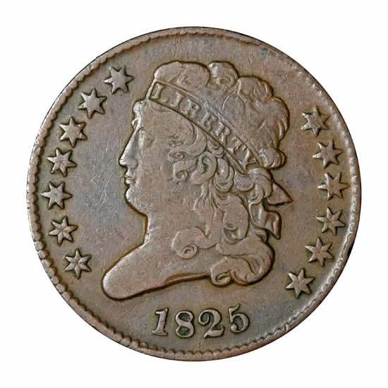 Half Cents Very Fine
