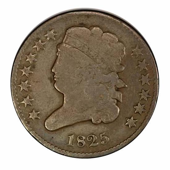 Half Cents Very Good