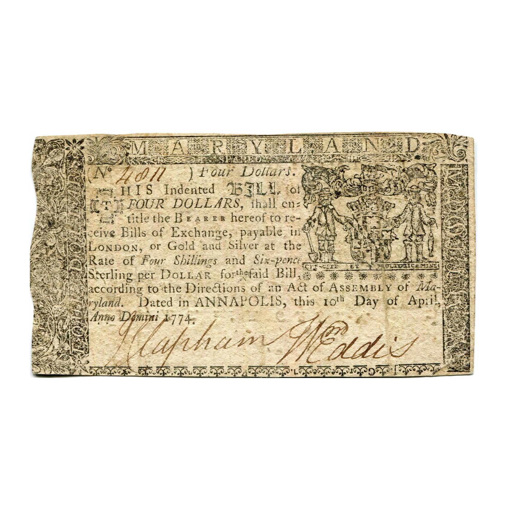 Colonial and Continental Currency