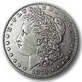 Morgan Silver Dollars Extra Fine Condition