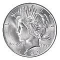 Peace Dollars Uncirculated Condition