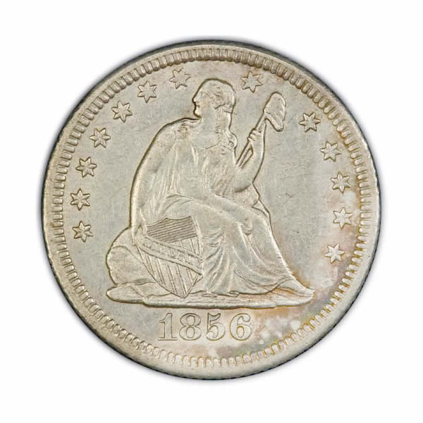 Seated Liberty Quarters Almost Uncirculated