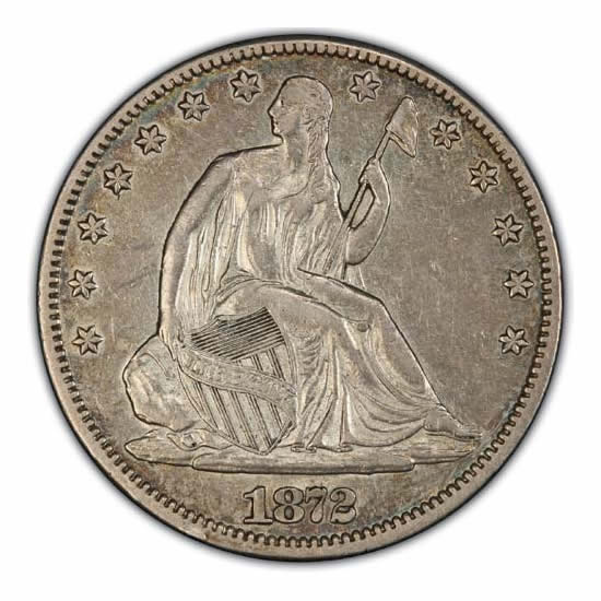 Seated Liberty Half Dollars Almost Uncirculated