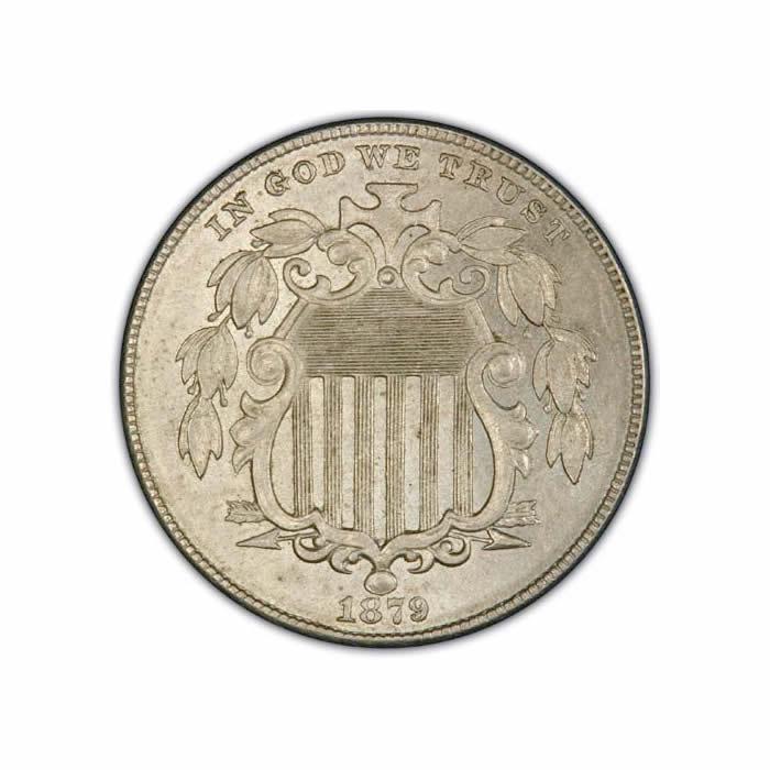 Shield Nickels Uncirculated