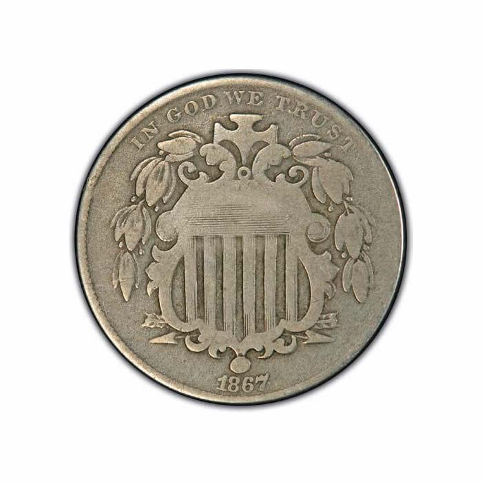 Shield Nickels Very Good