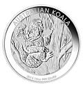 Australian Silver Koala Ten Ounce