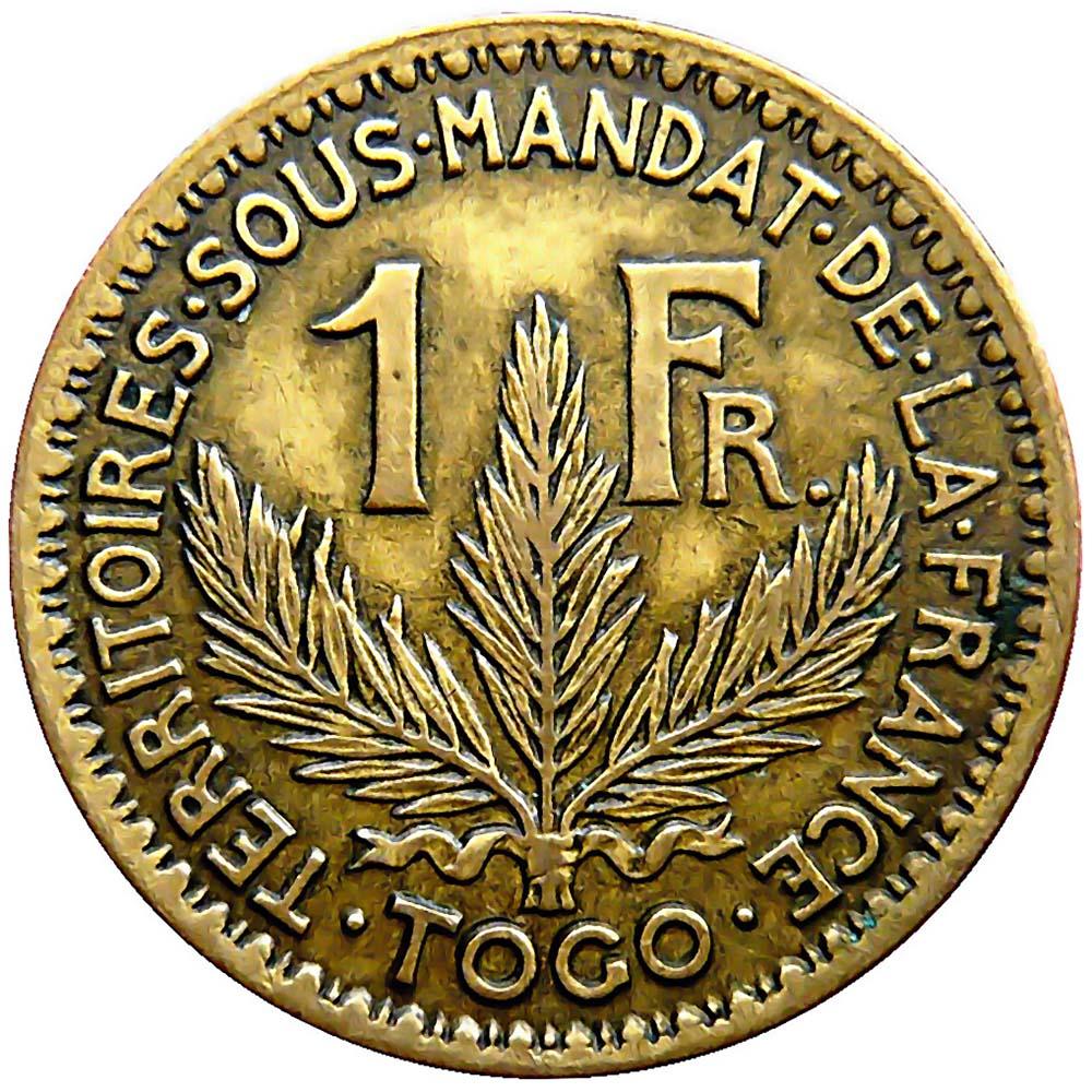 Togo World Coins