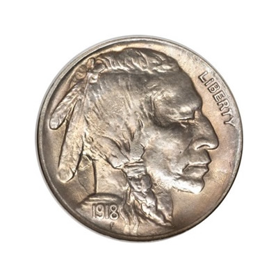 Buffalo Nickels Uncirculated Condition