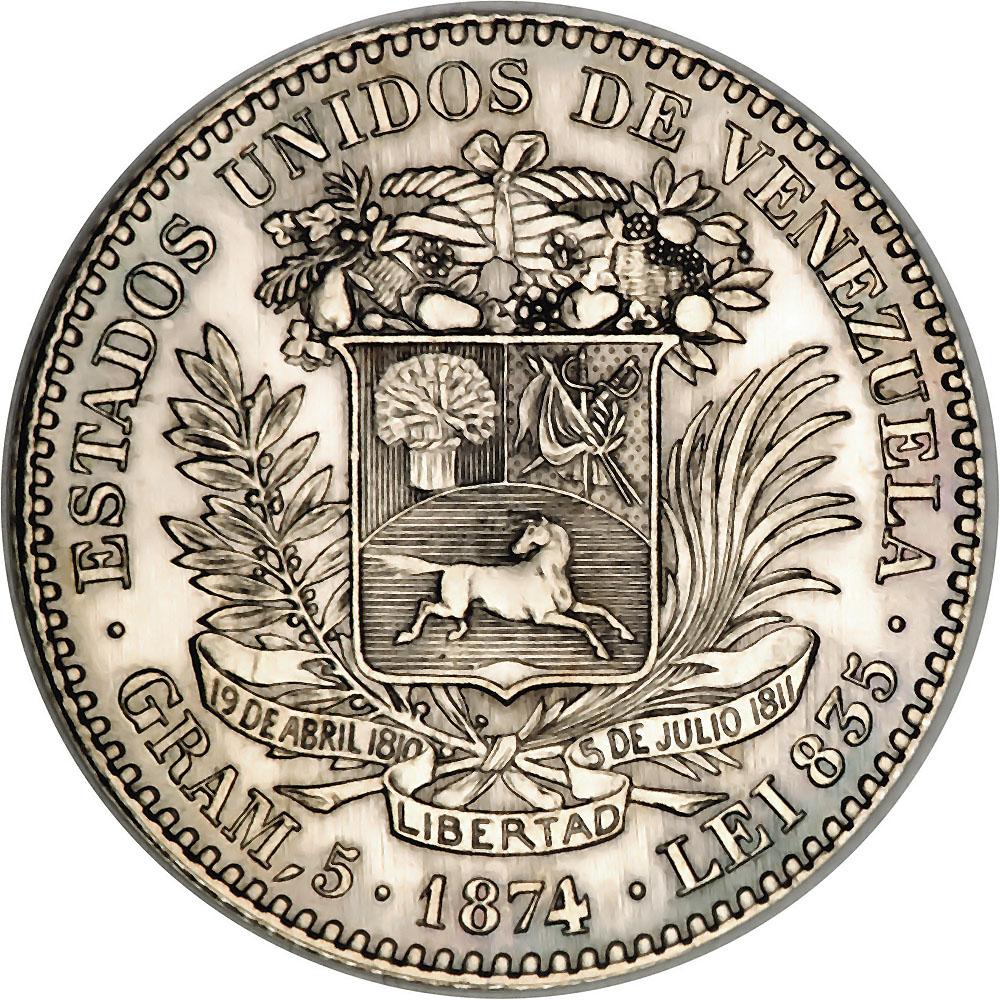 Venezuela World Coins