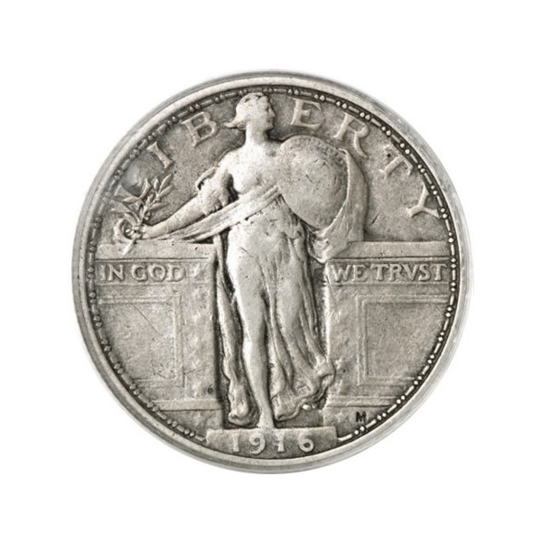 Standing Liberty Quarters Very Fine Condition