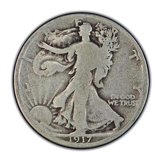 Good-Very Good Walking Liberty Half Dollars