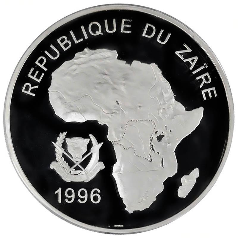 Zaire World Coins